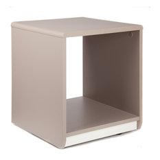 Tables de chevet et tables de nuit modernes for Table de chevet cube lumineux