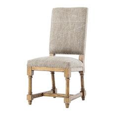 Four Hands Furniture - Ashford Ashton Dining Chair, Aspen Gray - Dining Chairs