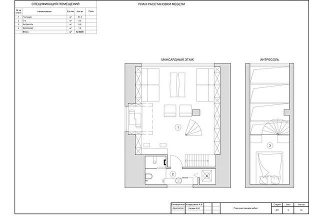 Внутренний план by ADesign
