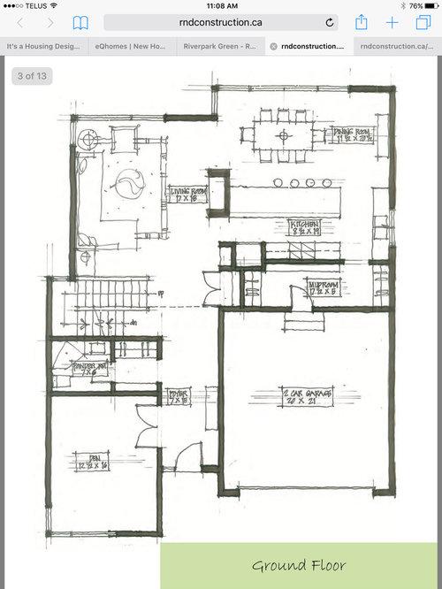 Award Winning Floor Plan Vs Stock Plans