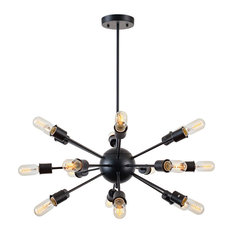 poly and bark sputnik chandelier chandeliers