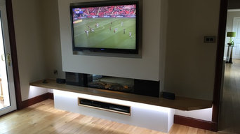 Electric fire installation