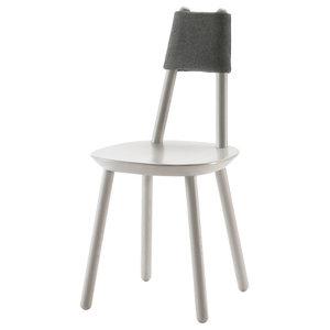 Naïve Wooden Chair, Gray