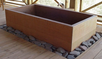 Master crafted Japanese Ofuro tub