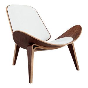 Tripod Plywood Modern Lounge Chair Midcentury