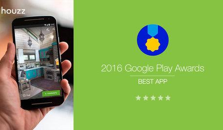 Приложение Houzz назвали приложением 2016 года на Google Play