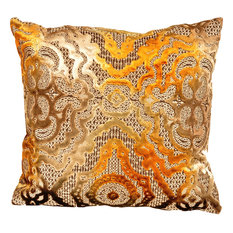 Baroque Pillow, Gold