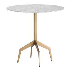 "Sunpan 103328 Richart Bistro Table, Marble Look, 31.5"""