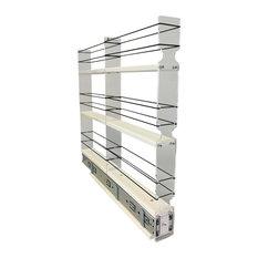 2x3x22 Spice Rack Drawer, Cream