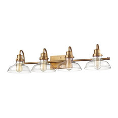 "Millennium Lighting 2314 4 Light 35""W Bathroom Vanity Light - Bronze"