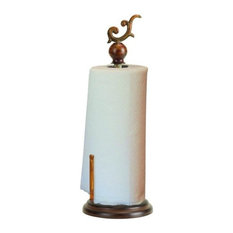Metal Paper Towel Holder 18  H, 7  W 48462