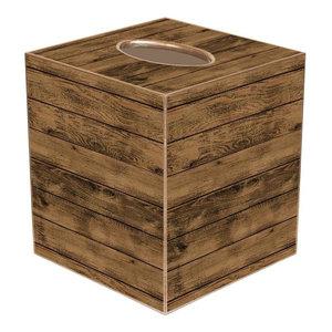 TB8264-Shiplap Wood Tissue Box Cover
