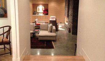 """White white oak 5"""" plank floor"""