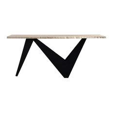 Bird Console Table, Natural