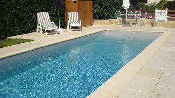 piscine coque polyester