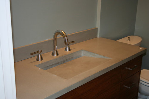 I\'m replacing a vanity with banjo countertop over the toilet. Does ...