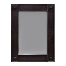 Bo Living - Stora Industrial Wall Mirror, Large - Wall Mirrors