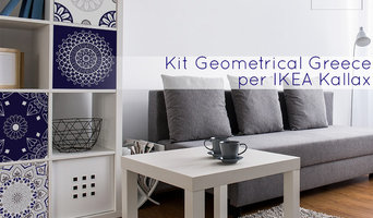 Rivestimento Geometrical Greece per IKEA Kallax