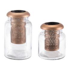Trina Jar, Medium, Copper
