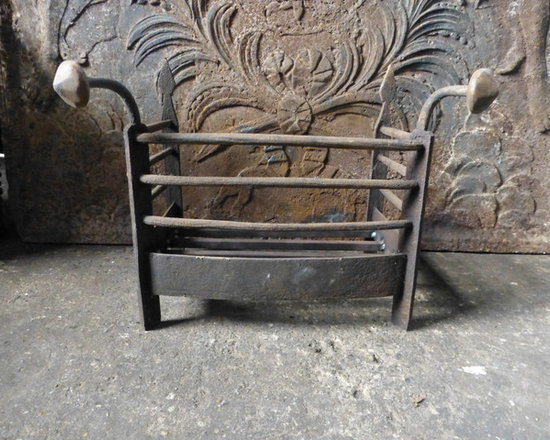 antique fireplace grate basket fireplace grates and andirons