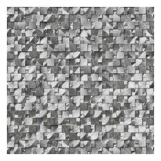 Silver Aluminum Metal 3D Pattern Florence Metal Pattern Metal