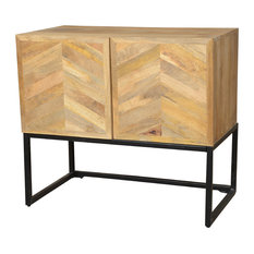 Great Rustic Home Interiors   Storage Buffet Thin   Buffets And Sideboards