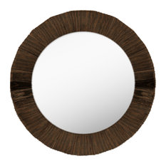 50 most popular rustic mirrors for 2018 houzz ptm images round wall mirror dark brown wall mirrors altavistaventures Images