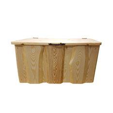 Pine Wood Storage Chest, Natural