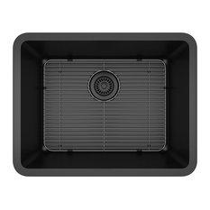 Domain Industries Inc. - Lexicon Platinum Sink, Black - Kitchen Sinks