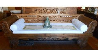 Antique Javanese Day Bed