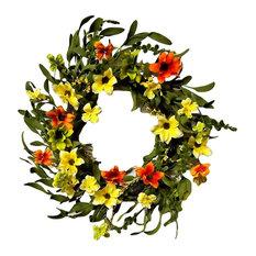 "Summer Sunrise Wreath 22"""