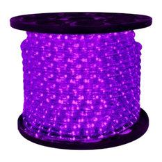 10Mm 150' Spool Of Purple LED Ropelight