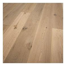 """French Oak Unfinished Engineered Wood Floor, 7 1/2""""x5/8"""" SE, 1 Box"""