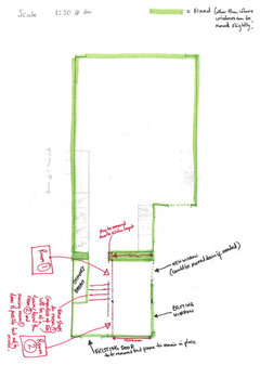 Please Help Utility Toilet Office Layout