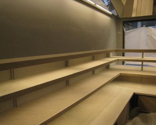 Espacio de exposición producto showroom privado by ecointeriorismo - Librerías