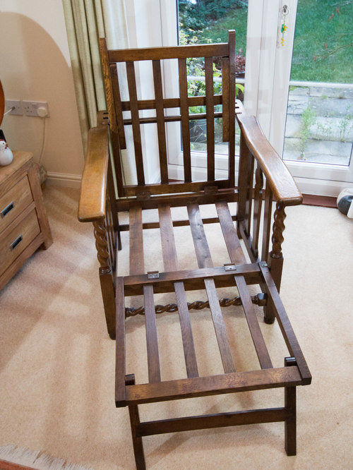 Refurbishment of Transforming mission chair - Recliner Chairs