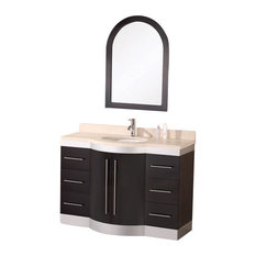 "Jade 48"" Single Sink Vanity Set With Granite Top"