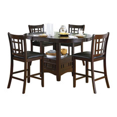 Homelegance Junipero 5-Piece Extension Counter Height Dining Room Set