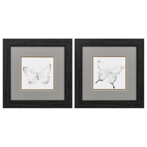 Butterfly Impression, Set of 2 Art Prints
