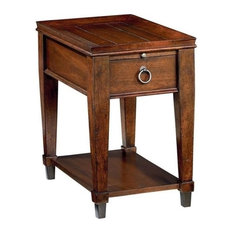 Beaumont Lane Chairside Table In Rich Mahogany