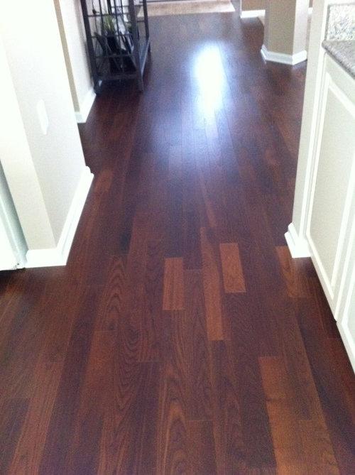 Hardwood Floor Layout Question