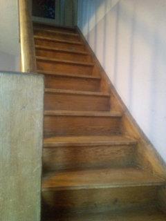 alte Holztreppe wieder verwenden