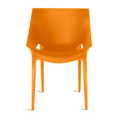 Dr. Yes Chair by Kartell, Set of 2, Orange