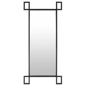 Surya Brim Mirror In Black Finish BRM001-3575