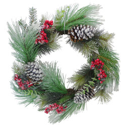 Contemporary Wreaths And Garlands by Admired by Nature