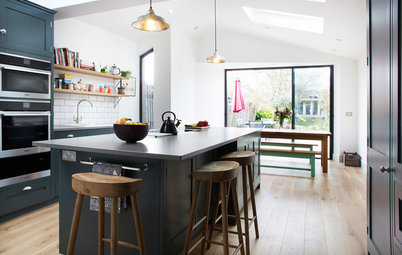 Kitchen Tour: Clever Storage in a Family-friendly Shaker Kitchen