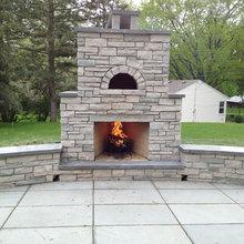 Stone Fireplaces In Minnesota.