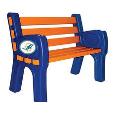 Miami Dolphins Park Bench