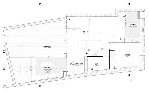 Planimetria by MAAD architectes