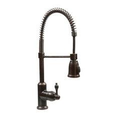 Premier Copper Products - Premier Copper Products K-Spd02Orb Tru Faucets Pre-Rinse High-Arc Kitchen Faucet - Kitchen Faucets